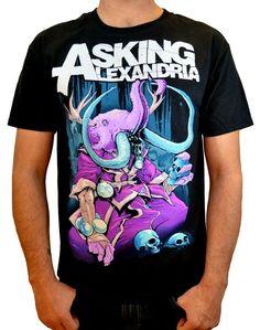 Devour - Asking Alexandra Band T-Shirts              | ShopRockAmerica.com