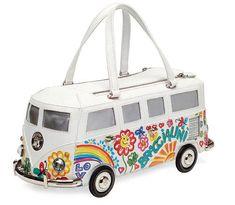 Luxury Bags: Fairy tale handbags—too fond to leave Unique Handbags, Unique Purses, Cute Purses, Purses And Handbags, Fashion Handbags, Fashion Bags, T1 Bus, Vw T1, Volkswagen