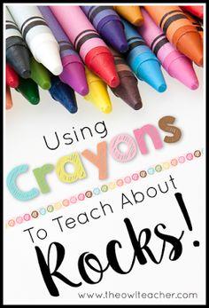 Rockin\' Colors (Exploring Rocks with Crayons)