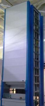 Высотный автоматизированный склад KARDEX SHUTTLE XP на производстве Гидроагрегат корпорация Ростех