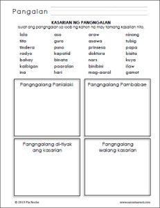 Kasarian ng Pangngalan Worksheets (Part - Samut-samot First Grade Reading Comprehension, Worksheets For Grade 3, Cvc Words, Reading Material, Grade 1, Filipino, Life Quotes, Student, Education
