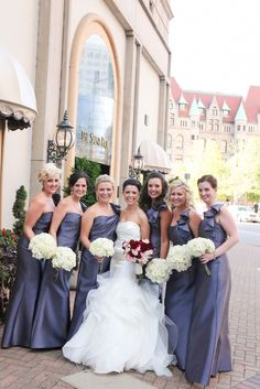 Sadie's Couture Floral - Kelly Brown Photography - Landmark Center - Rounded Bouquets - Wedding Flowers