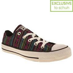 116388b5dadf22 Womens Converse All Star Ox Vi Tribal Trainers Converse All Star Ox