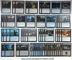 http://www.ebay.com/itm/mtg-BLACK-BLUE-ZOMBIES-DECK-Magic-the-Gathering-rare-cards-SOI-gisa-and-geralf-/351992225149?ssPageName=STRK:MESE:IT