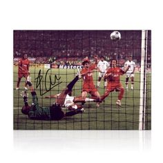 Miracle Of Istanbul Liverpool FC Photo Signed By Xabi Alonso by exclusivememorabilia.com. $79.99. This superb 16 inch by 12 inch photo was signed by Xabi Alonso on October 27, 2011 in Madrid. It shows Alonso scoring the third goal in Liverpool's amazing Champions League victory in the 2005 final. Trailing 3-0 at half time to AC Milan, Liverpool fought back to 3-3 before winning on penalties.