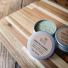 Green Tea Face Mask (Kaolin Face Mask, French Green Clay Face Mask, Normal Skin Mask, Face Mask Powder) by HedgeWych on Etsy https://www.etsy.com/listing/517195308/green-tea-face-mask-kaolin-face-mask