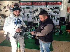 Il nostro rivenditore Edil Bianco di San Cecilia di Eboli (SA) condivide con noi la sua passione per i prodotti Hitachi.