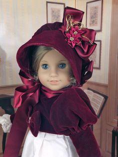 "Wish I had....  Regency Jane Austin Gown ft American Girl Caroline Elizabeth 18"" Doll | eBay alterations24u sold for $122.50"
