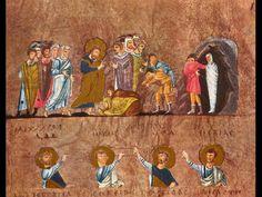 The Resurrection of Lazarus Raising Of Lazarus, Medieval Manuscript, Middle Ages, The Twenties, Renaissance, Bible, Painting, Google Search, Art