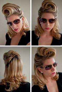 Day 31 of the Hair Romance Hairstyle Challenge - the coiff