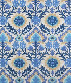 Waverly Santa Maria Sun N Shade Azure Fabric | onlinefabricstore.net