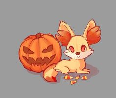 Fennekin Halloween