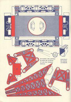 """Zig et Puce Mécanos, les découpages de """"Dimanche Illustré"""", page 12, éditions Hachette, 1931."""