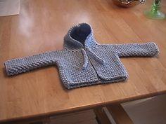 Fran's Hooded Baby Sweater AKA the Diaper Bag Sweater