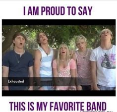 LOL... But R5 is my favorite band...