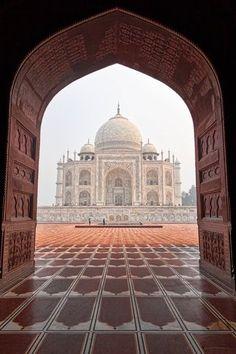 Taj Mahal, Agra, India; complice de pasiones.