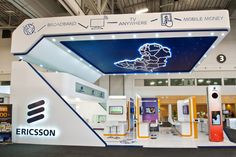 #Ericsson #stand at the AfricaCom Exhibition, designed, Manufactured and installed by 369