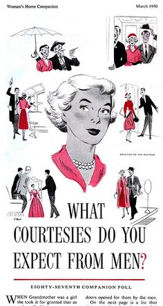 Woman's Home Companion  Illustrated by Van Kaufman  March 1950