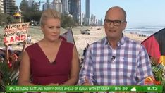 SUNRISE'S coverage of the Commonwealth Games on the Gold Coast was disrupted by a massive protest at their sunny Gold Coast set. Commonwealth Games, Live Show, Morning Show, Sunrises, News Stories, Gold Coast, Cow, Men Casual, Entertainment