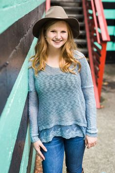 High school senior photos in Seattle's Fremont neighborhood #seattleseniors #classofawesome #seattlephotographer #seniorportraits