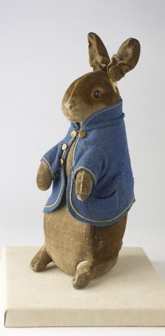 Peter Rabbit doll, circa 1909