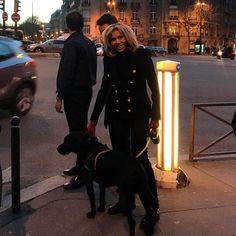 에펠탑 찍다가 퍼스트 레이디를 만났다 ! ! ! #마담마크롱 #firstlady #BrigitteMacron