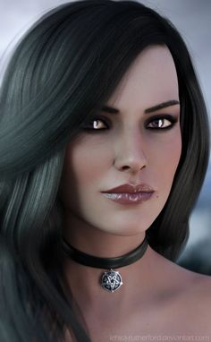 Yennefer The Witcher 3 Fanart by Lehira-Rutherford