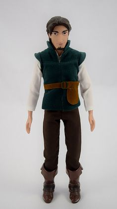 2015 Flynn Rider Classic 12'' Doll - US Disney Store Purchase - Deboxed - Standing - Full Front View | por drj1828