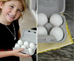 Play Kitchen Food using Plastic Eggs