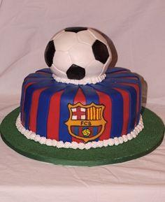 Cardiff City Football Cake Birthday Cakes Pinterest - Football cakes for birthdays