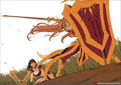 Leona and Sivir