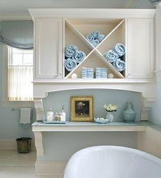Kluge Ideen Für Badezimmer Design Stauraum Organisieren