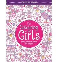 Colouring for Girls: Pretty Pictures to Colour and Complete (Puhakötésű)