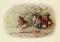The Guinea Pigs' Garden by Beatrix Potter. www.beststoriesforchildren.com