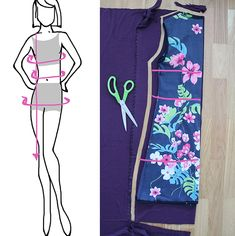 Madam B.C.: Tee-se-itse: Ompele mekko osa 1. Apron, Athletic Tank Tops, Stitch, Knitting, Tees, Handmade, Crafts, Diy Ideas, Craft Ideas