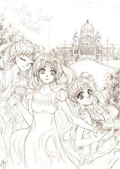 Sailor Moon - Alone by zelldinchit on DeviantArt