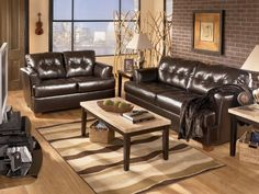 magician slate sofa & loveseat #sofa #loveseat #livingroom #rana
