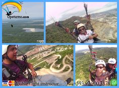 Paragliding Guayaquil Ecuador Enjoy the scenery of the city of Guayaquil , on a flight thermals .