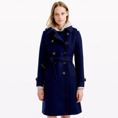 Icon trench coat in wool-cashmere : wool | J.Crew