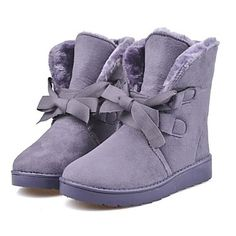Women's Shoes Snow Boots Low Heel Mid-Calf Boots More Colors available – EUR € 20.90