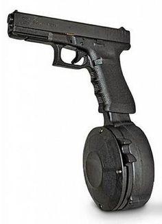 50 Round Drum for Glock 9mm
