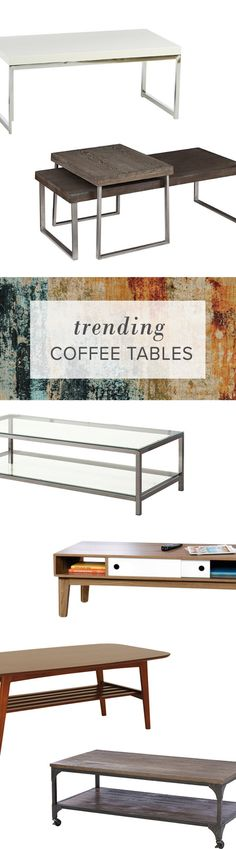Upgrade your living space with a new coffee table to achieve that sleek modern look. Visit AllModern today and sign up for exclusive access to deals for your modern home. Free shipping on orders over $49!