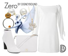 """Zero"" by leslieakay ❤ liked on Polyvore featuring Allurez, TIBI, Furla, Steve Madden, disney, disneybound and disneycharacter"