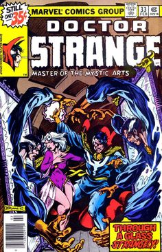 clea Dr. Strange comic book | doctor strange v2 33 1979 clea and dr strange come under attack by his ...