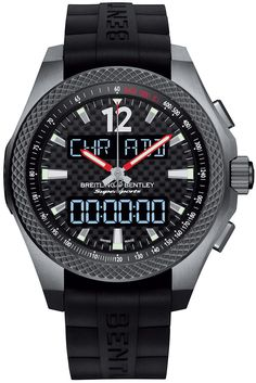 Breitling launched the Bentley Supersports B55 Connected watch, celebrating the new Bentley Continental Supersports. Featuring a suite of functions designed specifically for drivers.