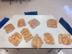 My Mayan art!!