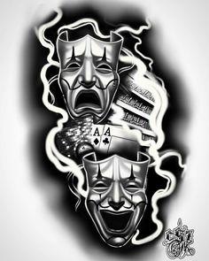 - Cholos Cholas Azteca Tattoo Graffiti Gangster Weed Cannabis Charra Catrina Payas… C. Cholo Tattoo, Payasa Tattoo, Chicano Tattoos Sleeve, Best Sleeve Tattoos, Tattoo Sleeve Designs, Poker Tattoo, Hand Tattoos, Forarm Tattoos, Skull Tattoos