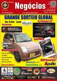 Revista negocios edic 14 nov  Revista editada en la ciudad de Kakegawa, Japan por la empresa Global Japan