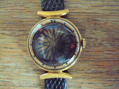 SOLD Ernest Borel Kaleidescope Watch. $250.00, via Etsy.