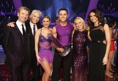 Ray Quinn wins the trophy for the last ever series of Dancing On Ice